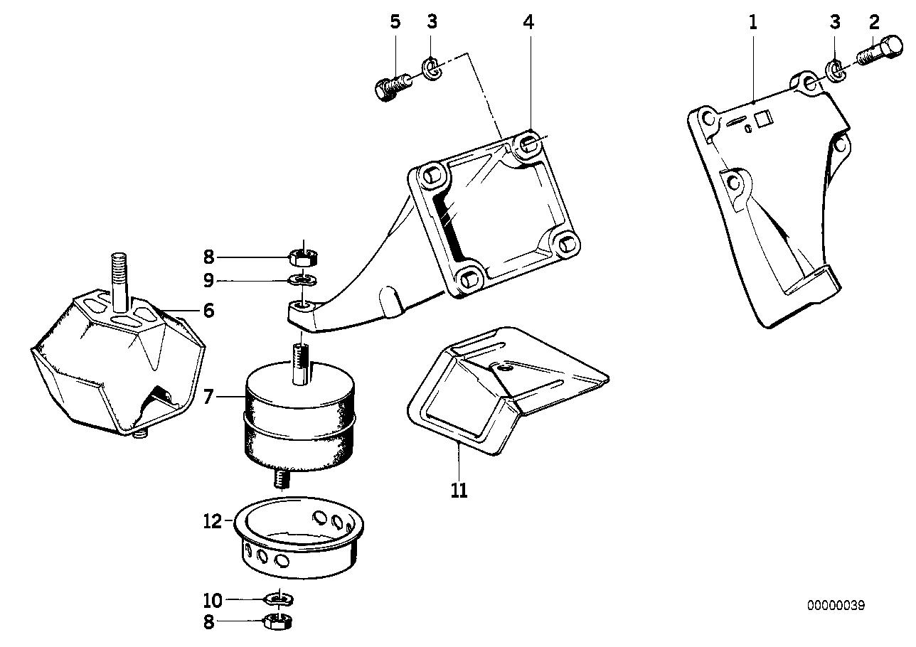 Online Bmw Parts Catalog E28 Engine Diagram Suspension Damper