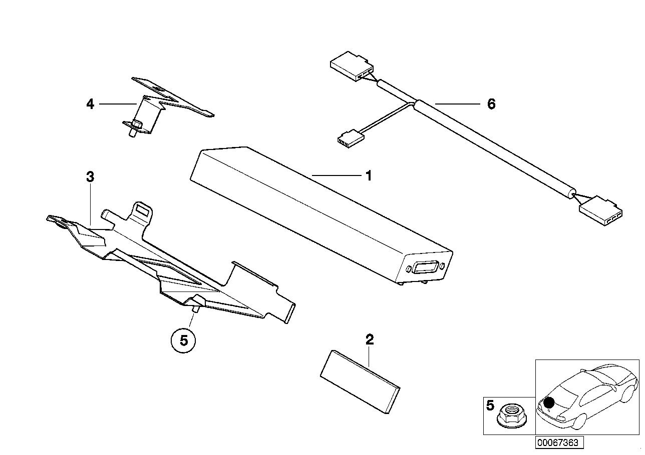Online Bmw Parts Catalog Z8 Wiring Diagram E52 Single Partsmobile Telephoneinteriors