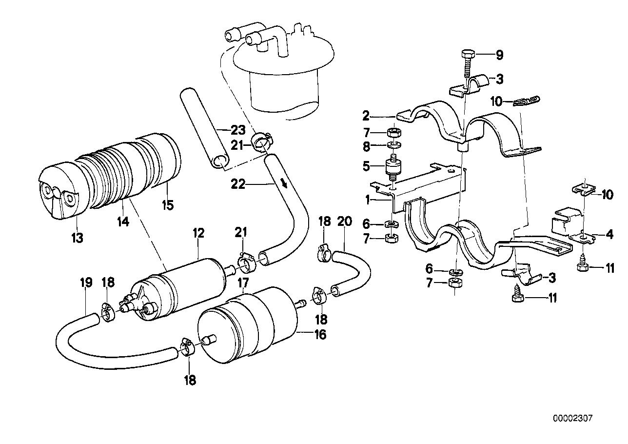 Fuel pump/fuel filter