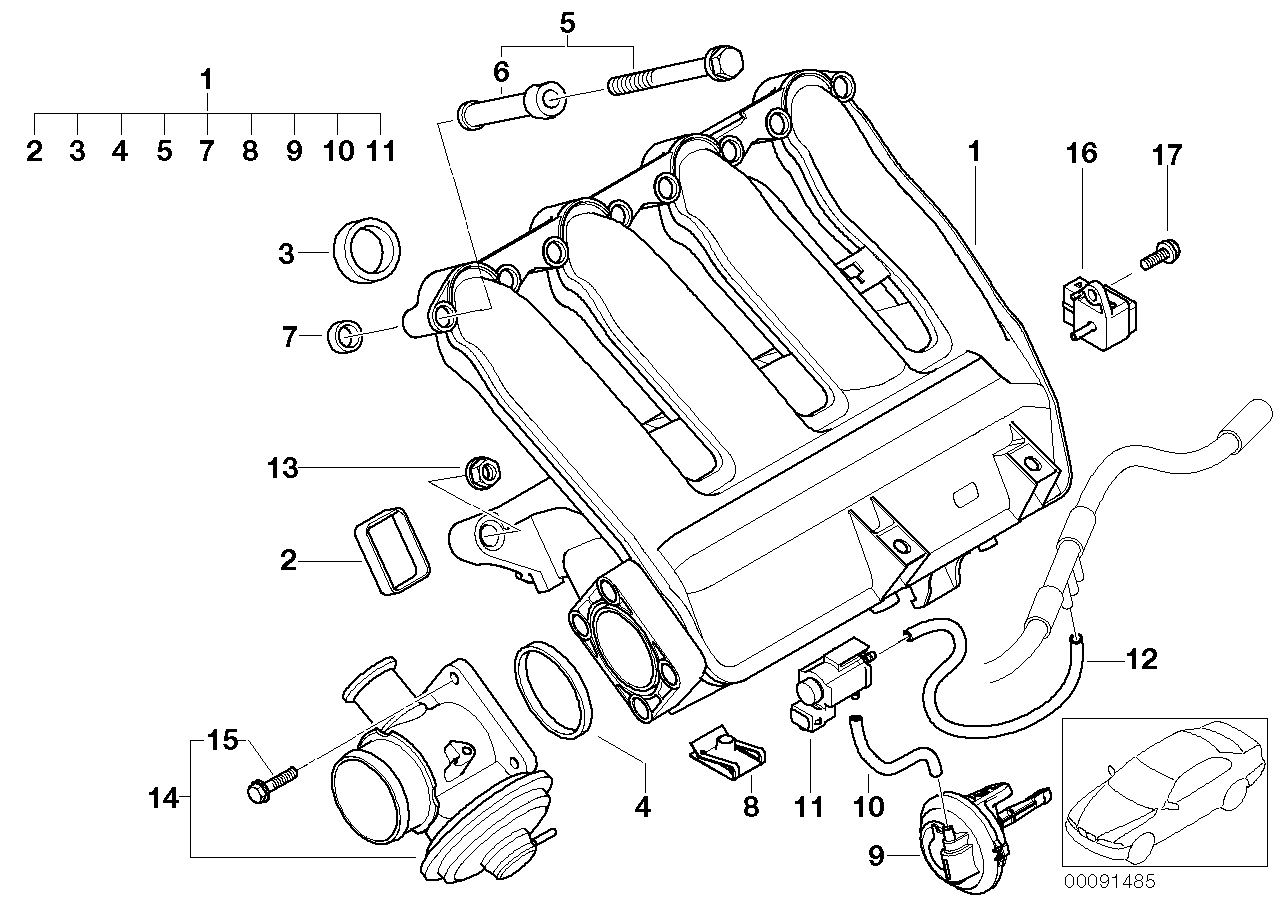 Bmw E36 Vacuum Diagram