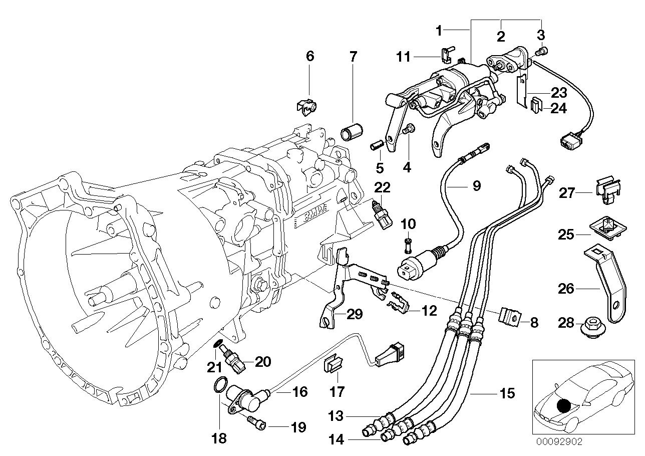 Tag E36 M3 Realoem Smg Wiring Diagram Transmission Parts