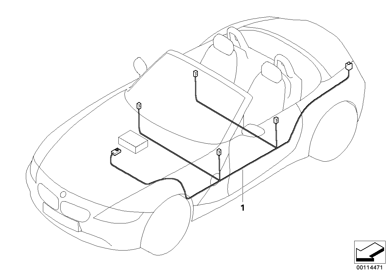 realoem online bmw parts catalog Custom Automotive Wiring Harness Kits audio wiring harness