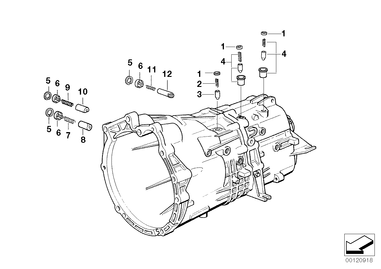 GS5-39DZ inner gear shifting parts