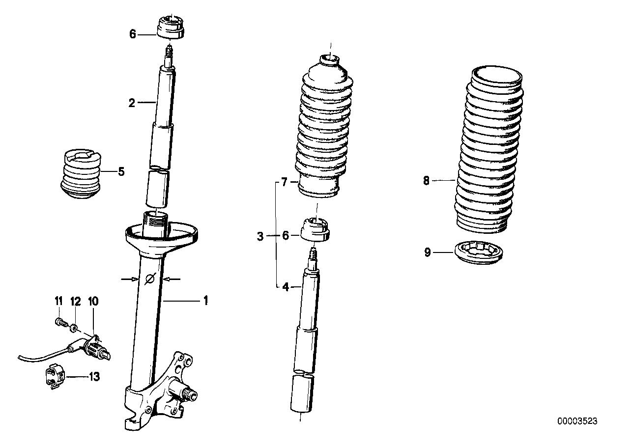 318i e30 front suspension diagram