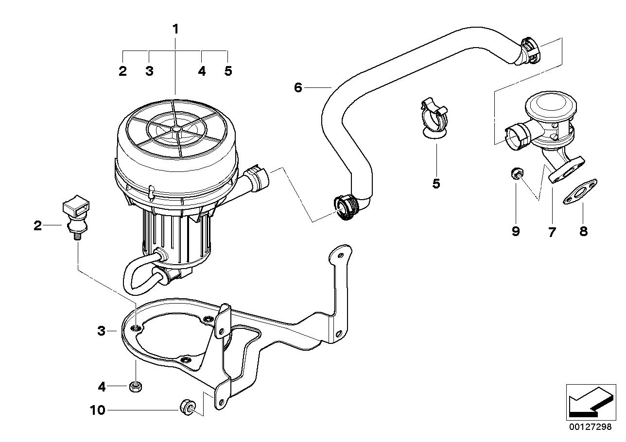 Bmw 525 Engine Emission Parts Diagram Content Resource Of Wiring 3 Series Realoem Com Online Catalog Rh X5 650 Body