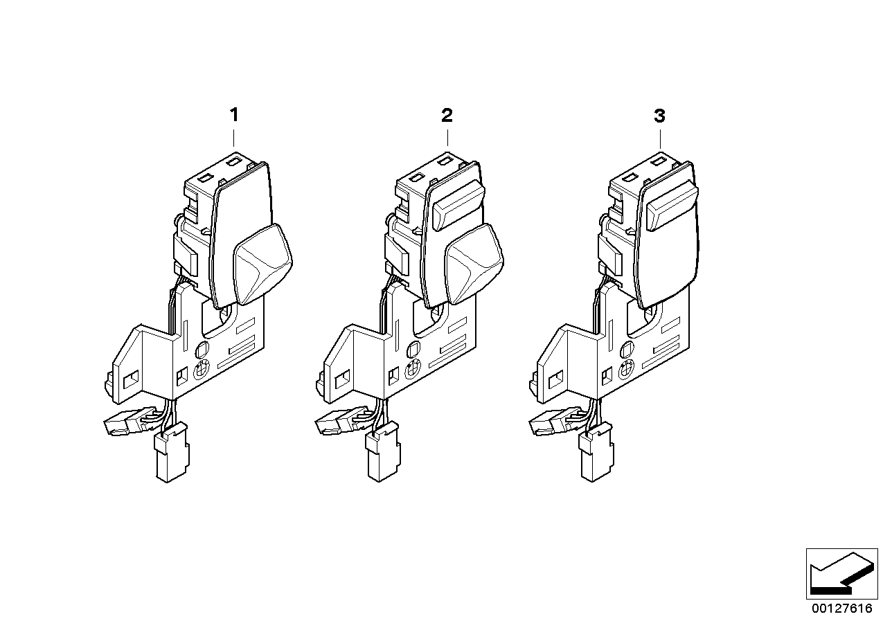 SWITCH ADJUSTER STEERING COLUMN