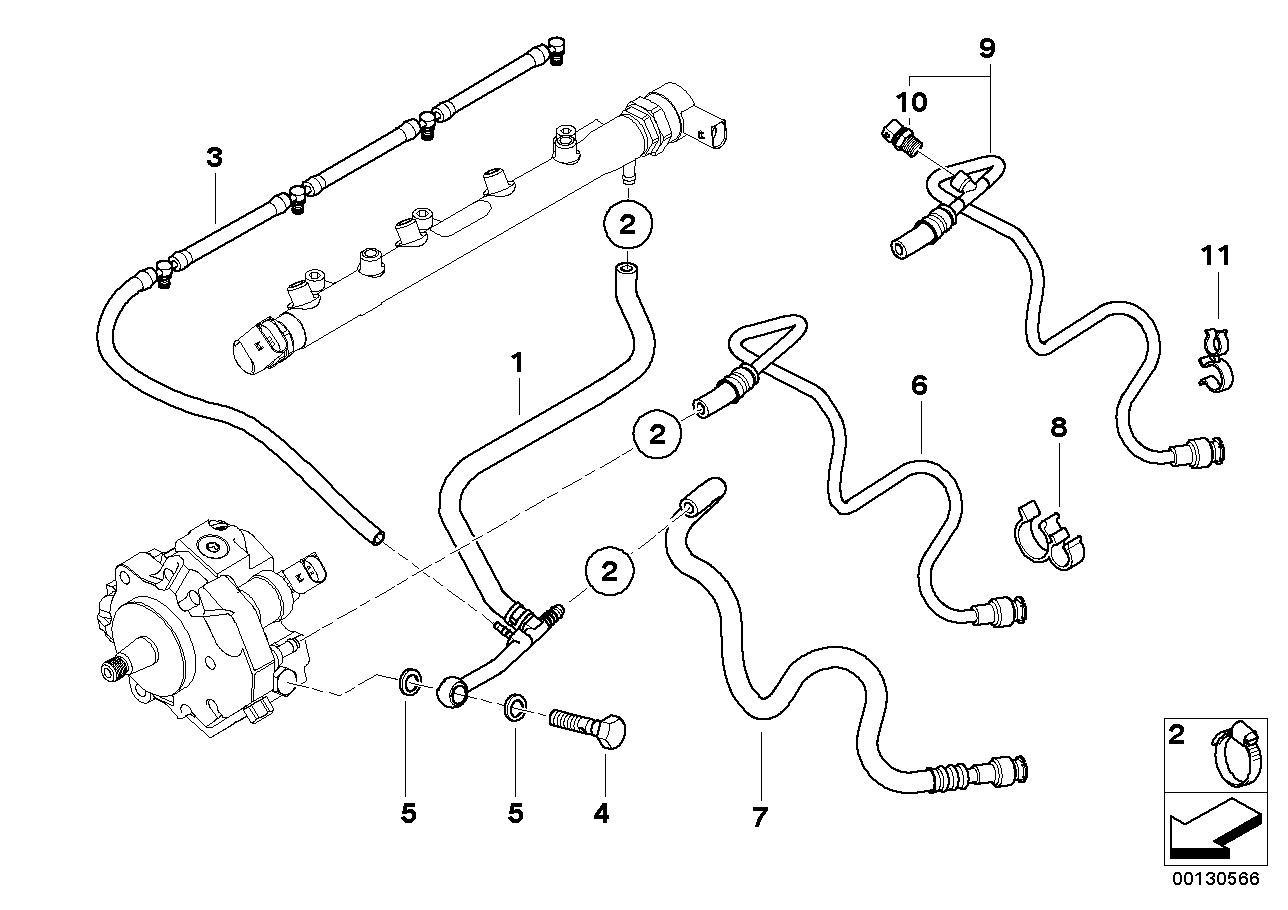 Bmw 320d E46 Fuel System Diagram - Wiring Diagram Library