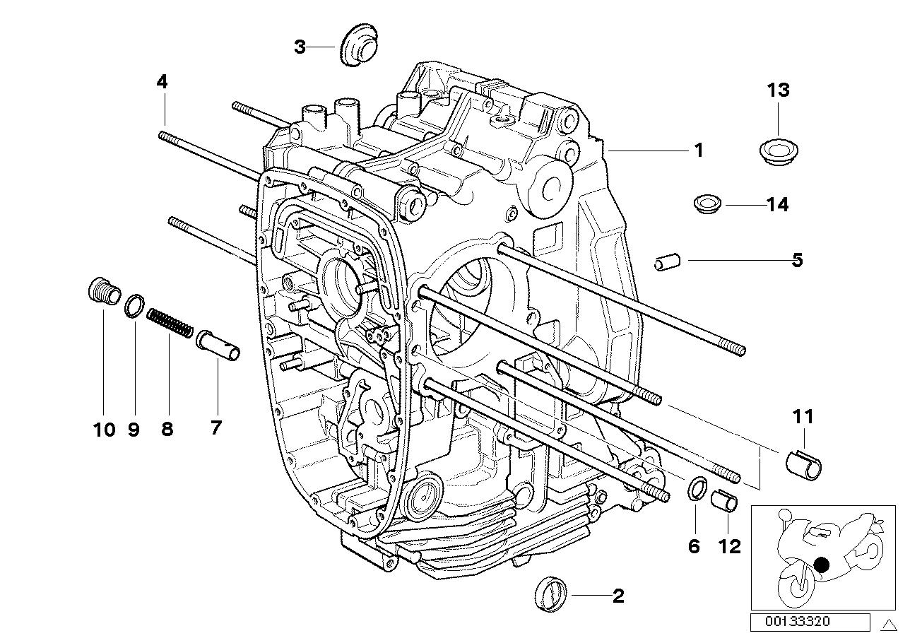 Online Bmw Parts Catalog R1150rt Engine Diagram Housing