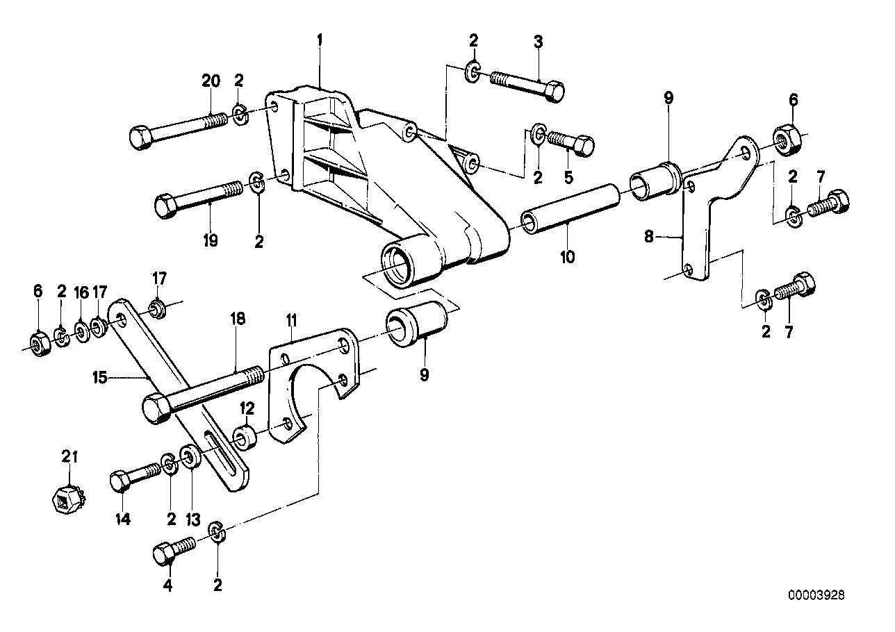 Online Bmw Parts Catalog Vane Pump Diagram Hydro Steering Bearing Support