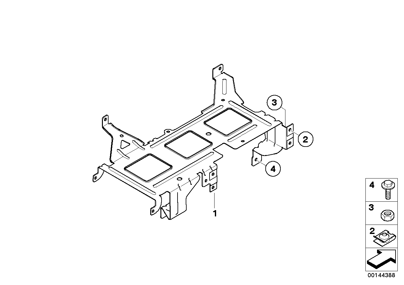 Bracket for video module