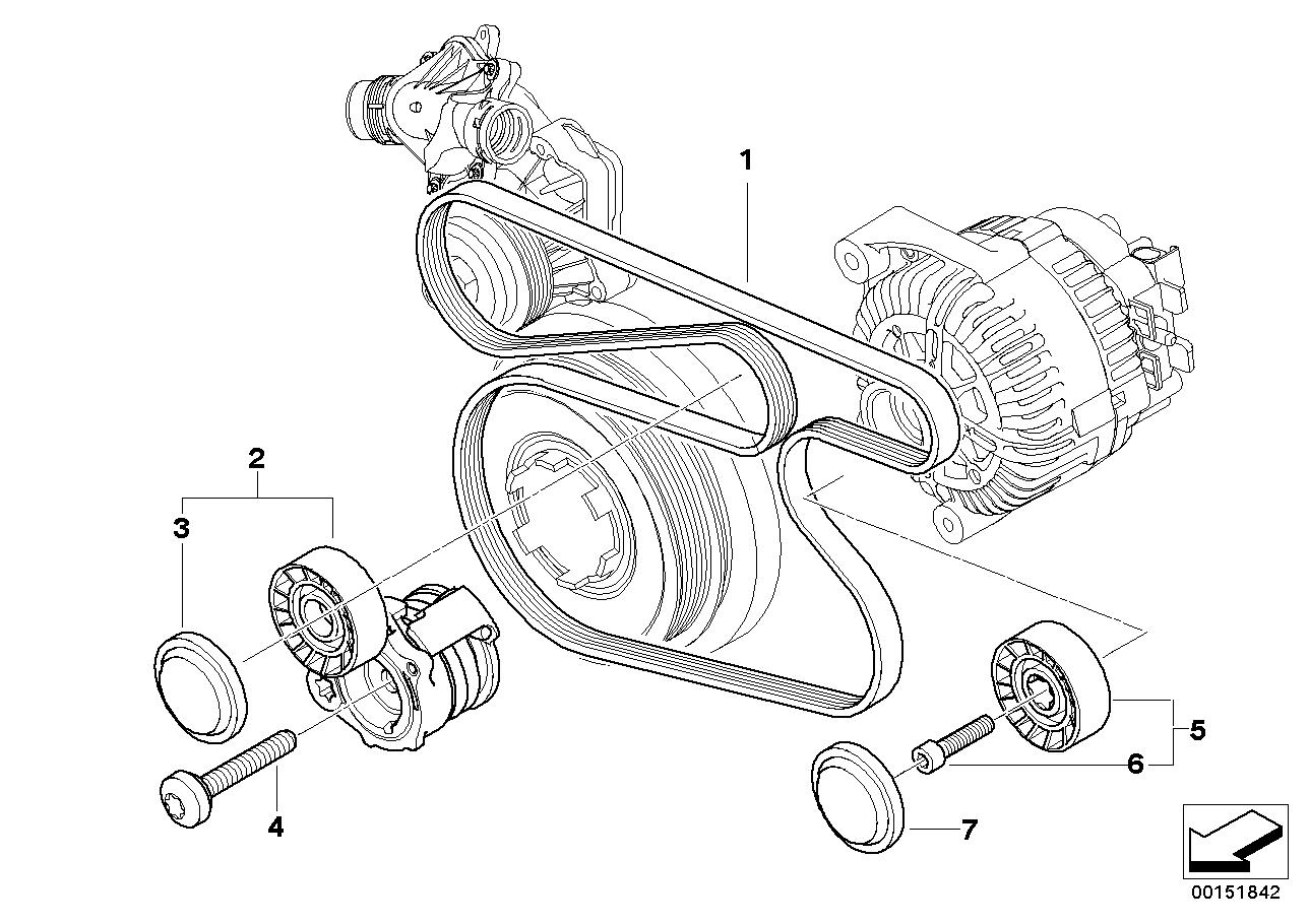 belt diagram bmw n52 wiring diagram BMW N55 e90 belt diagram wiring diagrame90 belt diagram