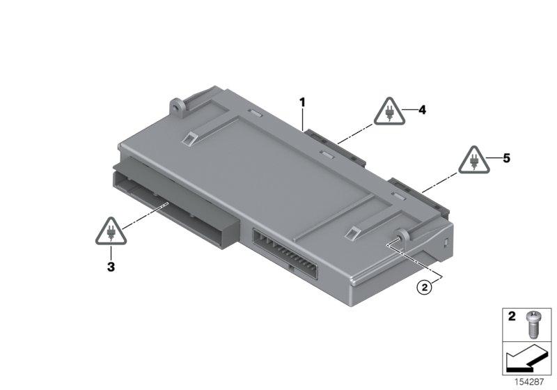 Online Bmw Parts Catalog E70 Engine Diagram Control Unit Junctionbox Elektronik