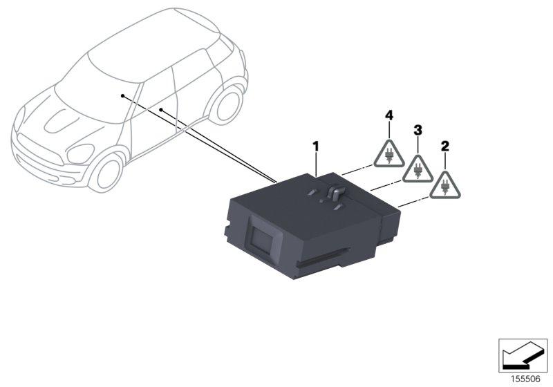 OEMM Lot de 4 d/éflecteurs dair de type IN-CANNEL compatibles avec BMW S/érie 5 F11 5 portes Break//Wagon 2010 2011 2012 2013 2014 2015 2016 2017 vitres lat/érales en verre acrylique