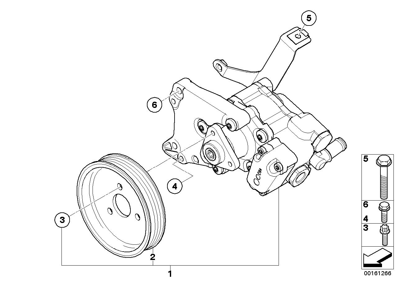 Online Bmw Parts Catalog Power Steering Pump Diagram