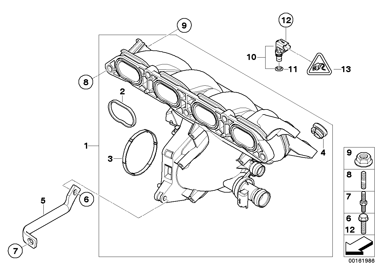 Mini Cooper S R56 Parts Diagram