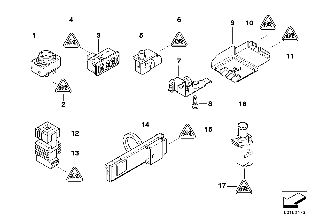 Various switches