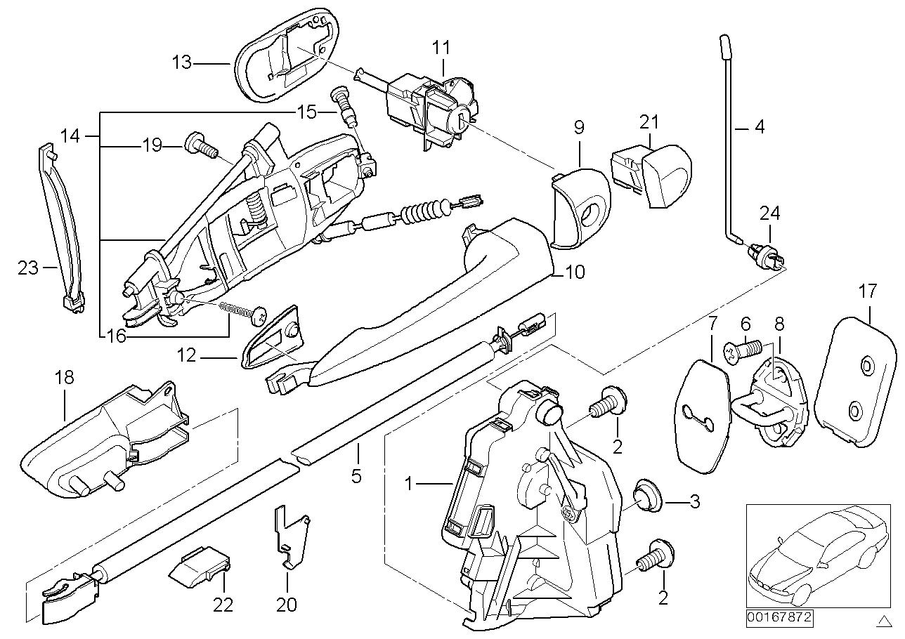 Bmw E46 Door Lock Diagram Schematics Wiring Diagrams E36 Central Locking Realoem Com Online Parts Catalog Rh