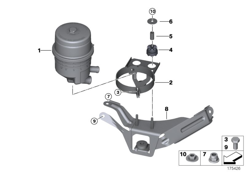 Oil reservoir/components/Active steering