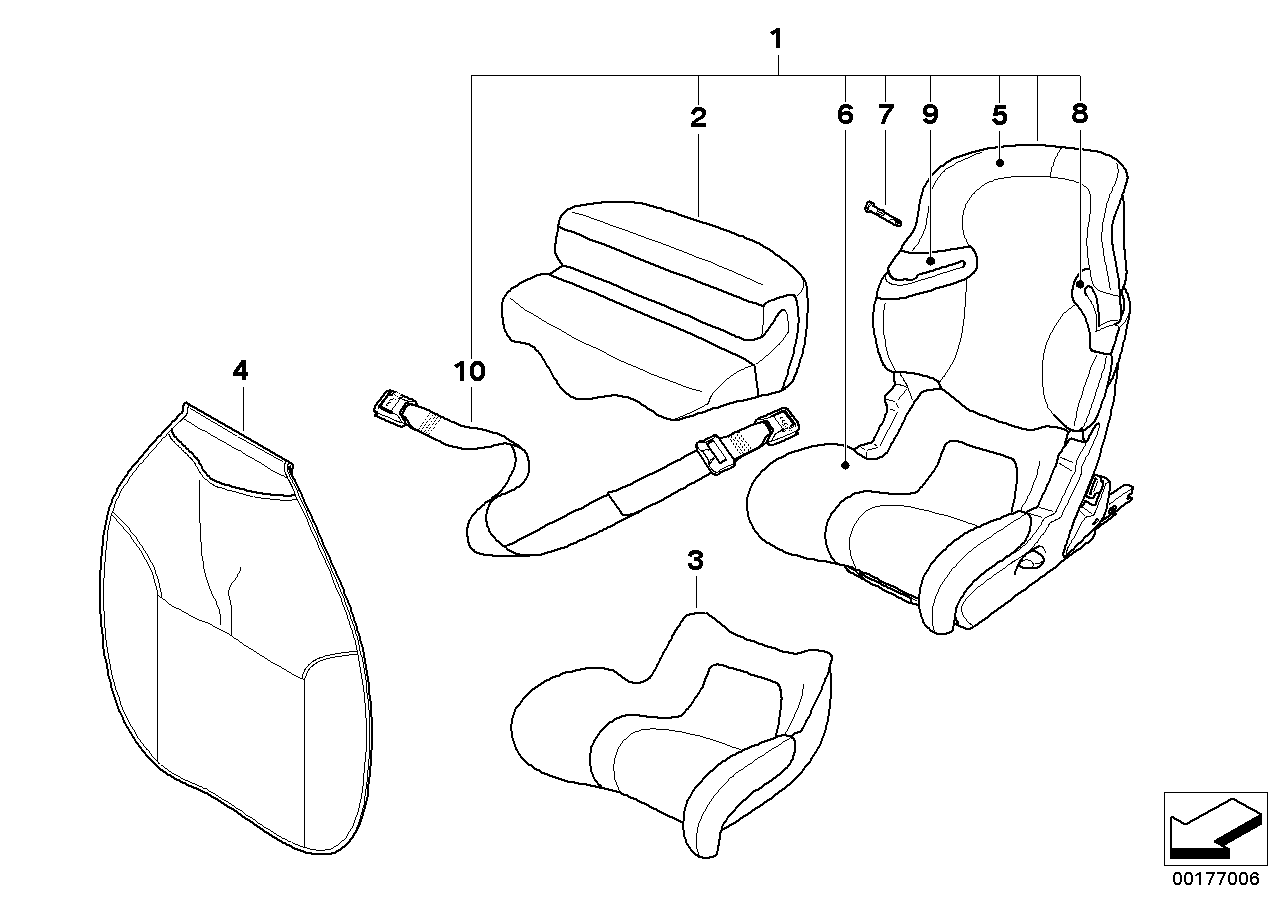 Junior Seat I-II ISOFIX