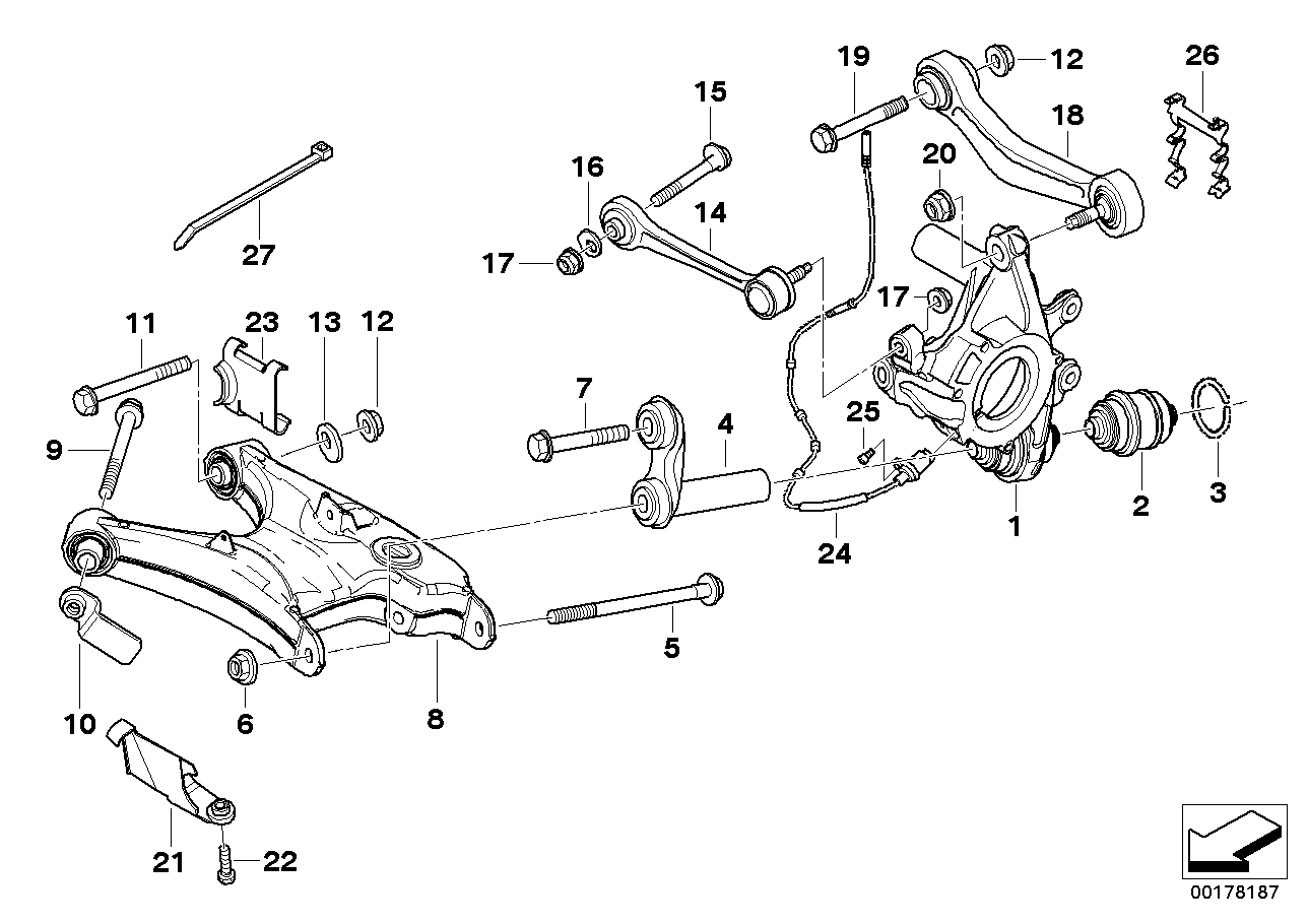 e39 suspension diagram