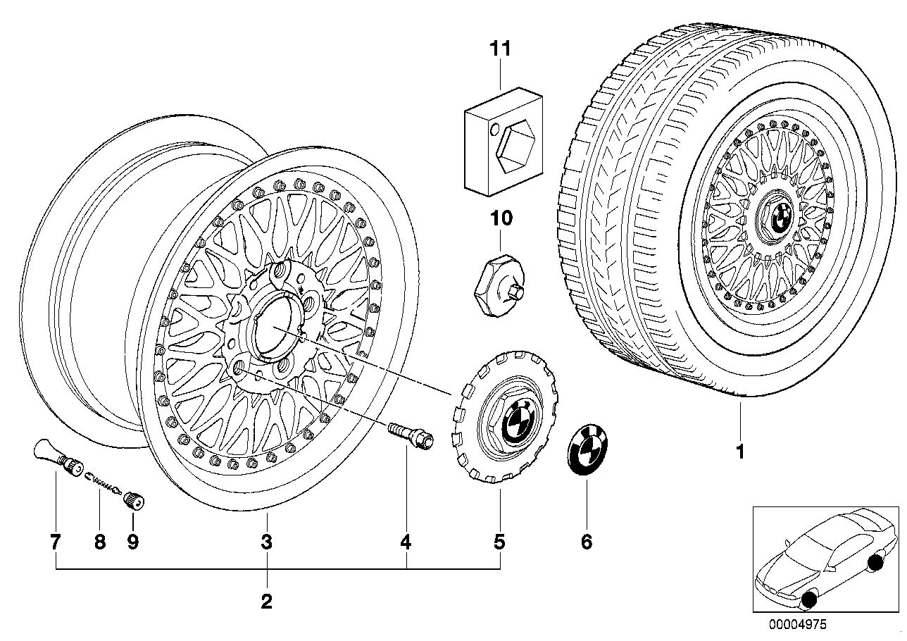 CROSS-SPOKE,COMPOSITE WHEEL (STYL.5)