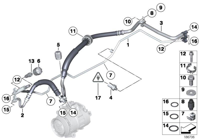 Coolant Lines: Parts Catalog 2009 BMW Z4 E89 At Daniellemon.com