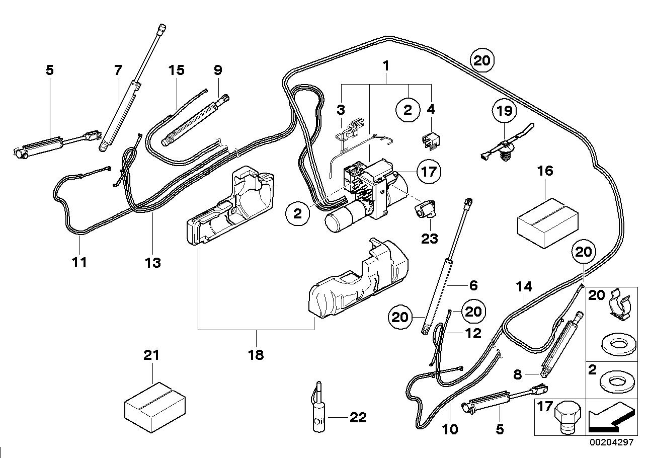Online Bmw Parts Catalog 118i Wiring Diagram Electro Hydraulic Folding Top