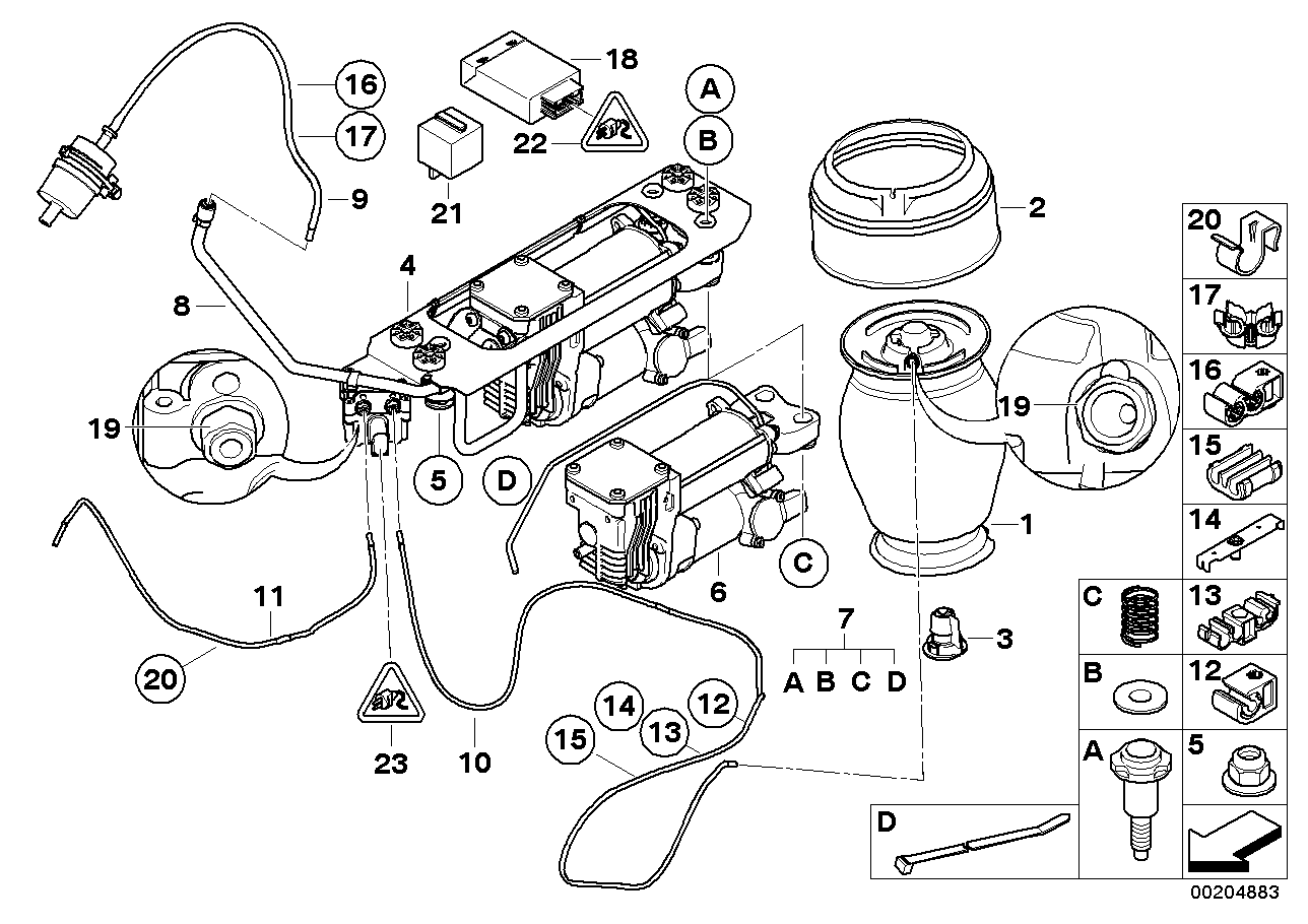 Bmw E61 Air Suspension Wiring Diagram - efcaviation.com