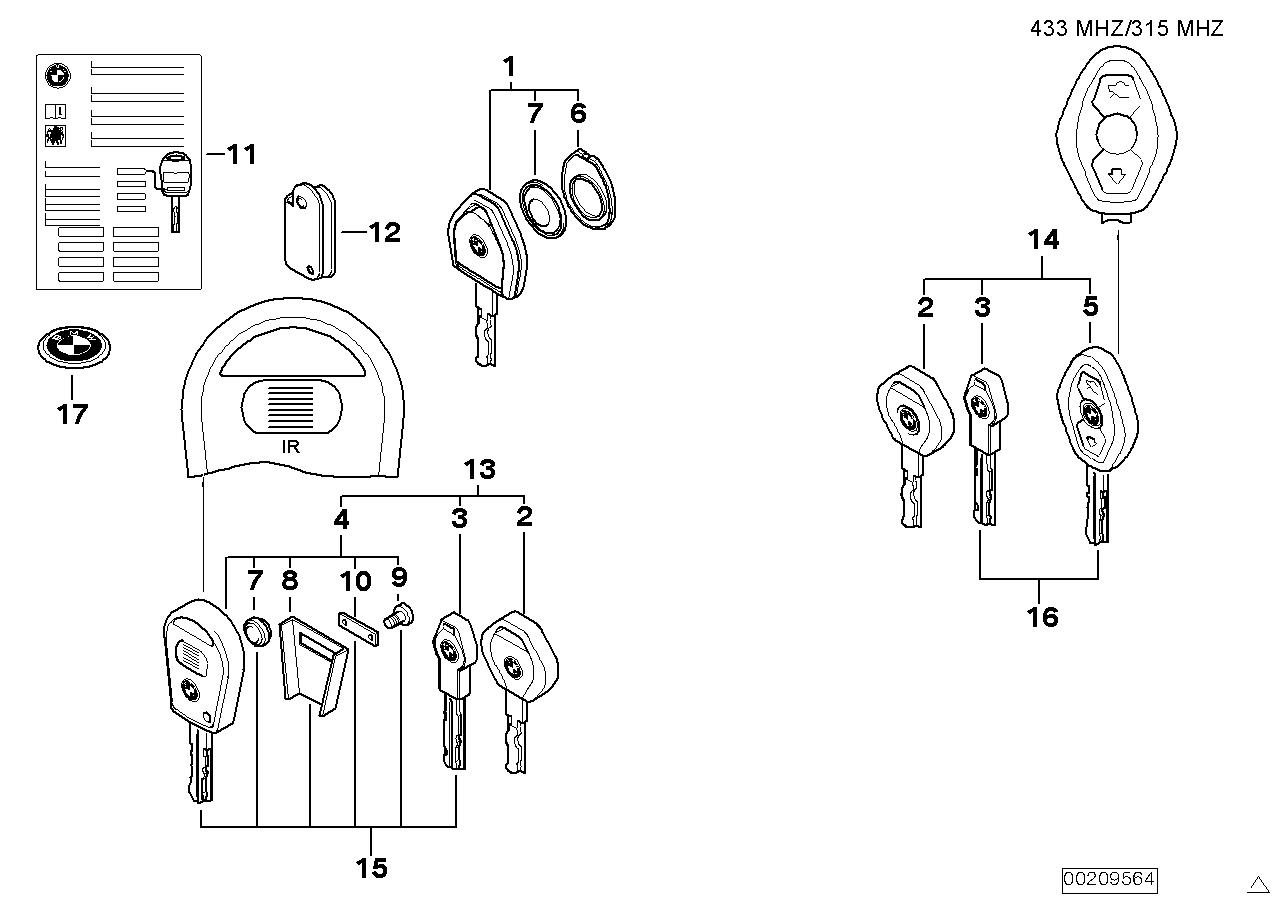 replacement key - bimmerfest