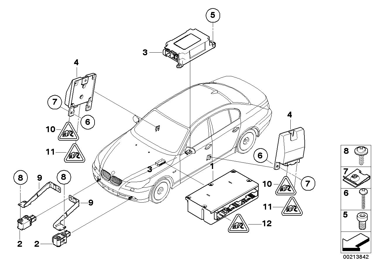 Bmw E60 Parts Diagram