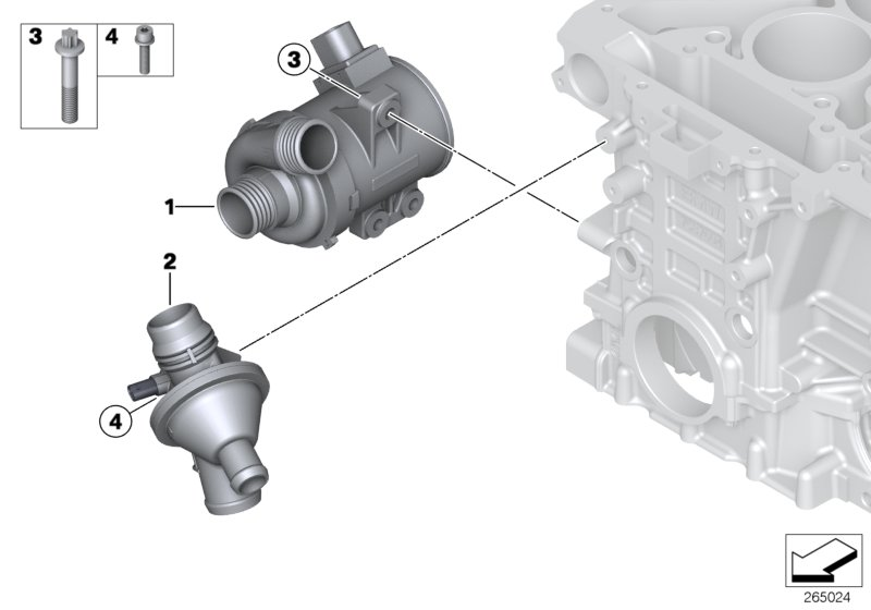 2014 bmw x3 thermostat replacement