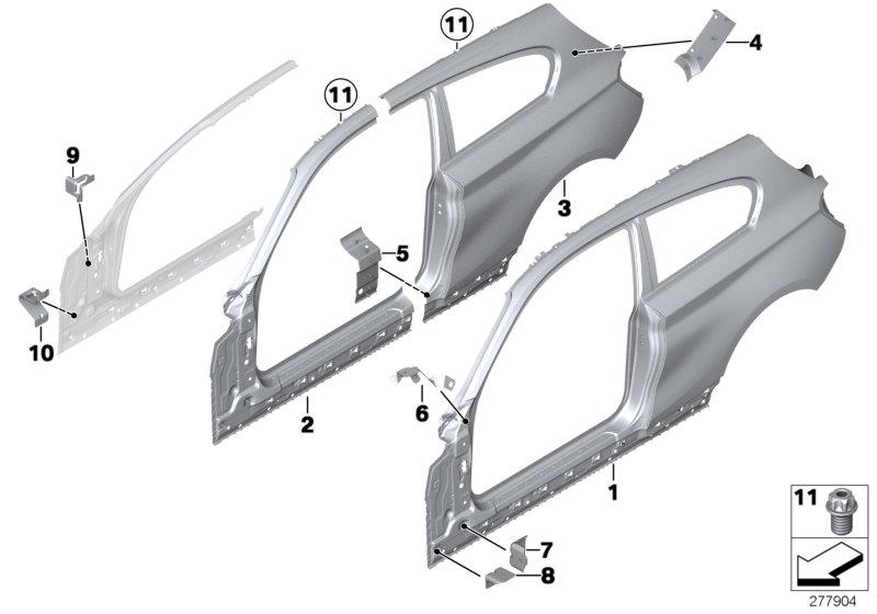 BMW Tapón ciego d = 15mm 07147127540