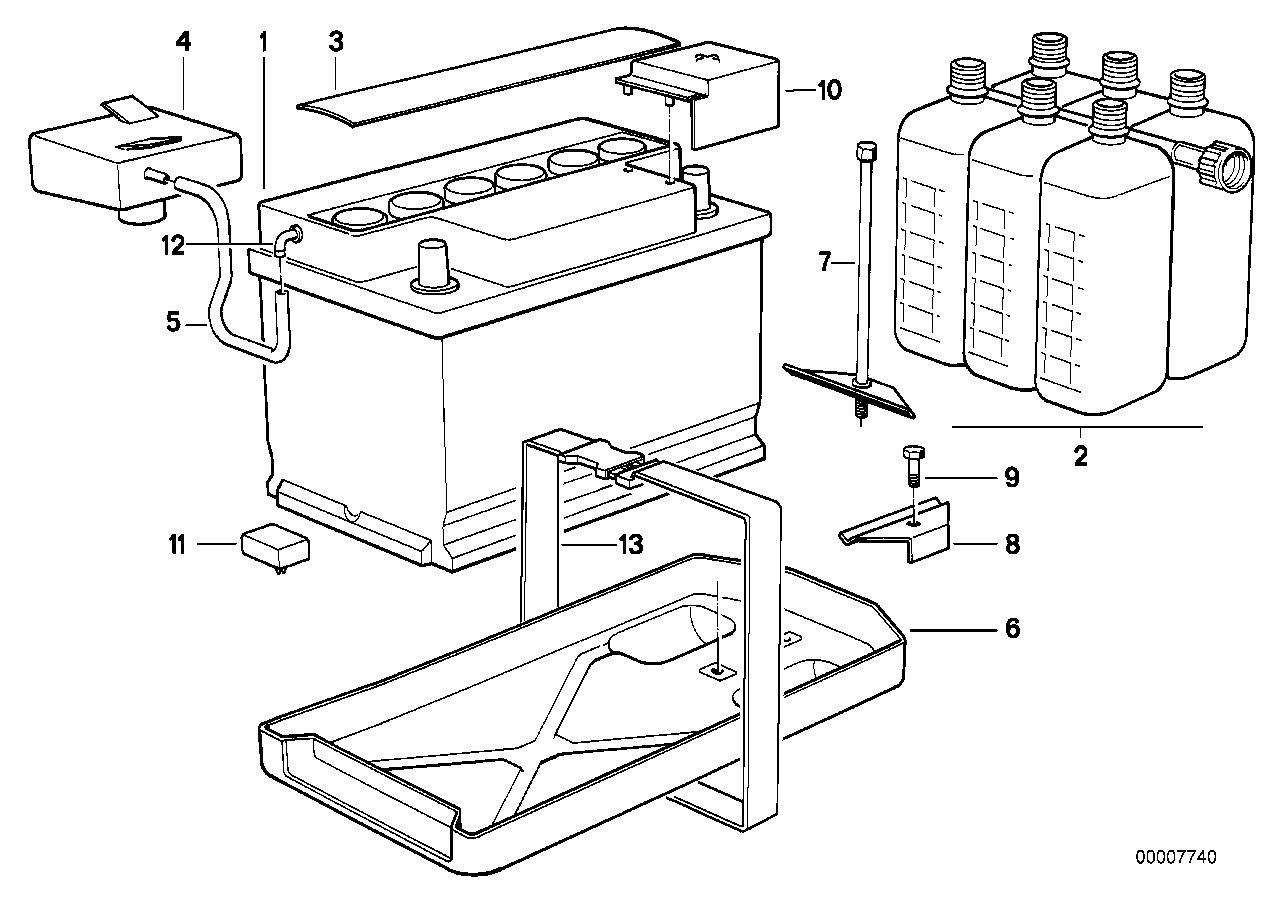 Bmw 325i Battery