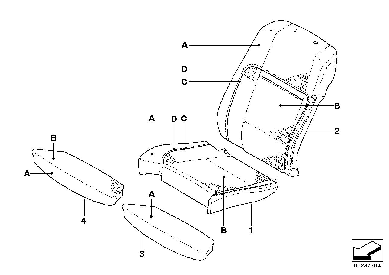 Individual cover,Klima-Leather comf.seat