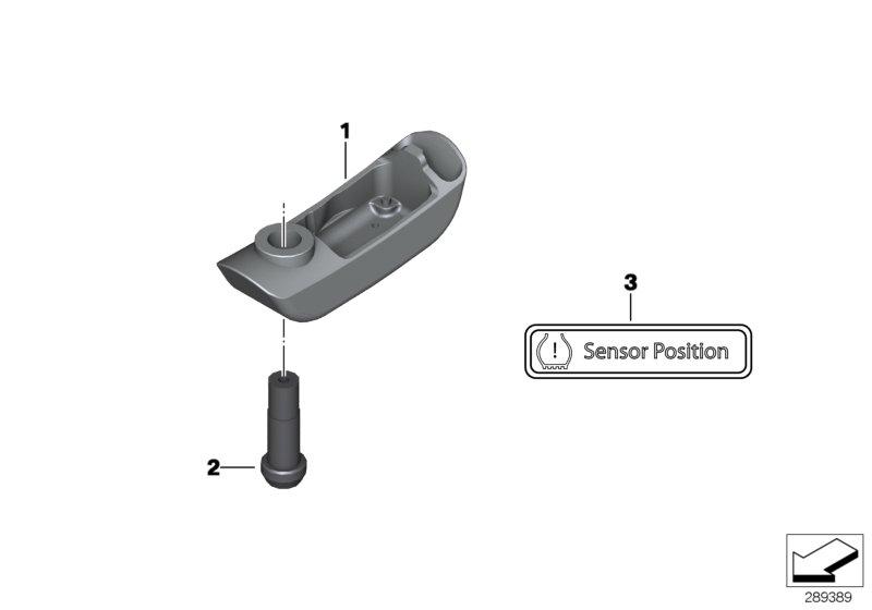 Sensor RDC rueda delantera