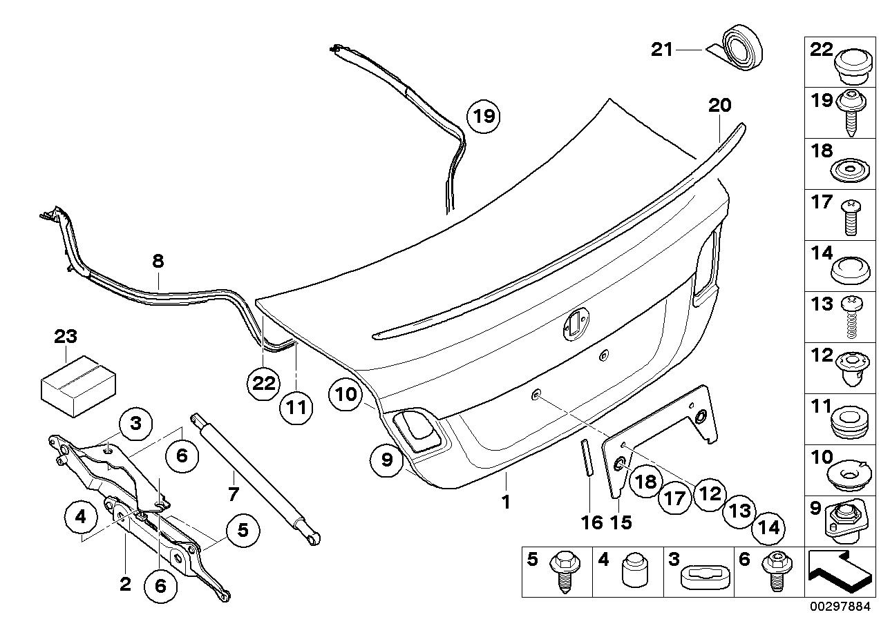 bmw online parts diagram trunk
