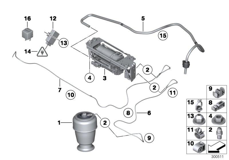 realoem com online bmw parts catalog rh realoem com bmw e61 air suspension diagram Strut Suspension Diagram