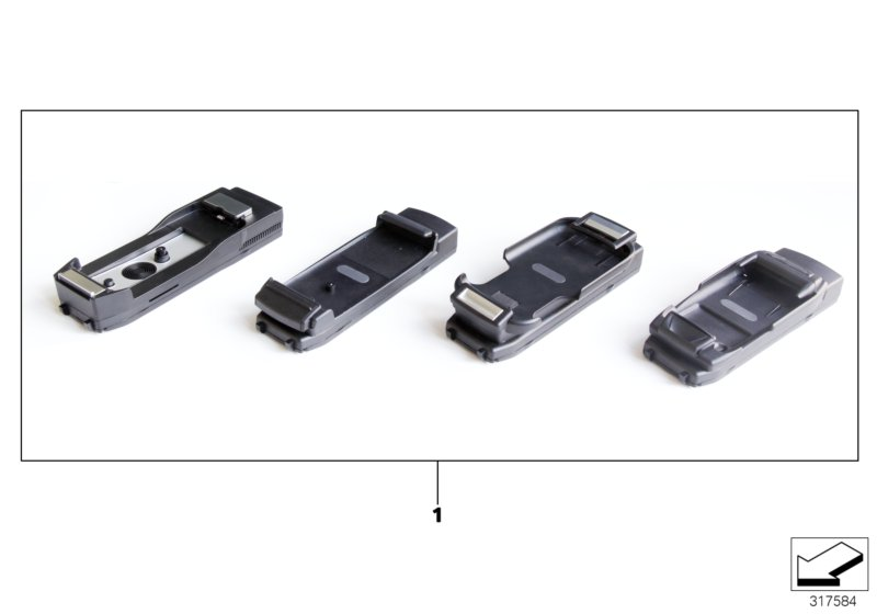 Snap-in adapter for NOKIA devices