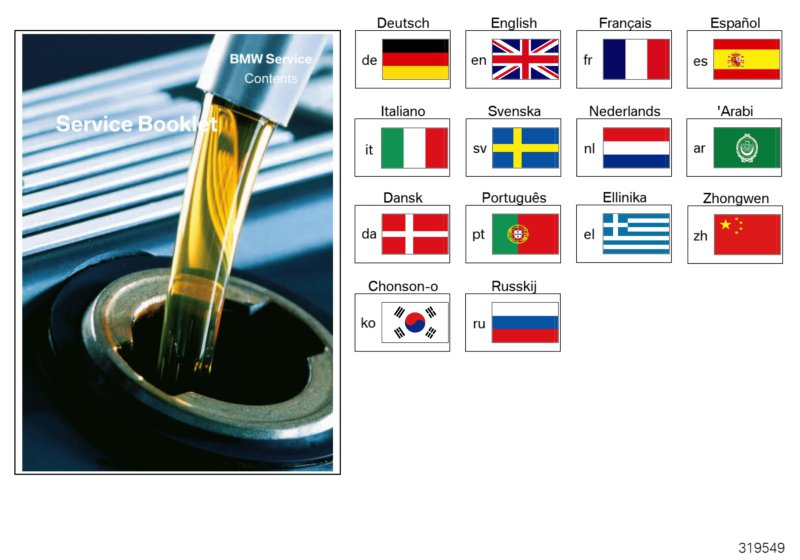 BMW Service booklet 2004 - 2008