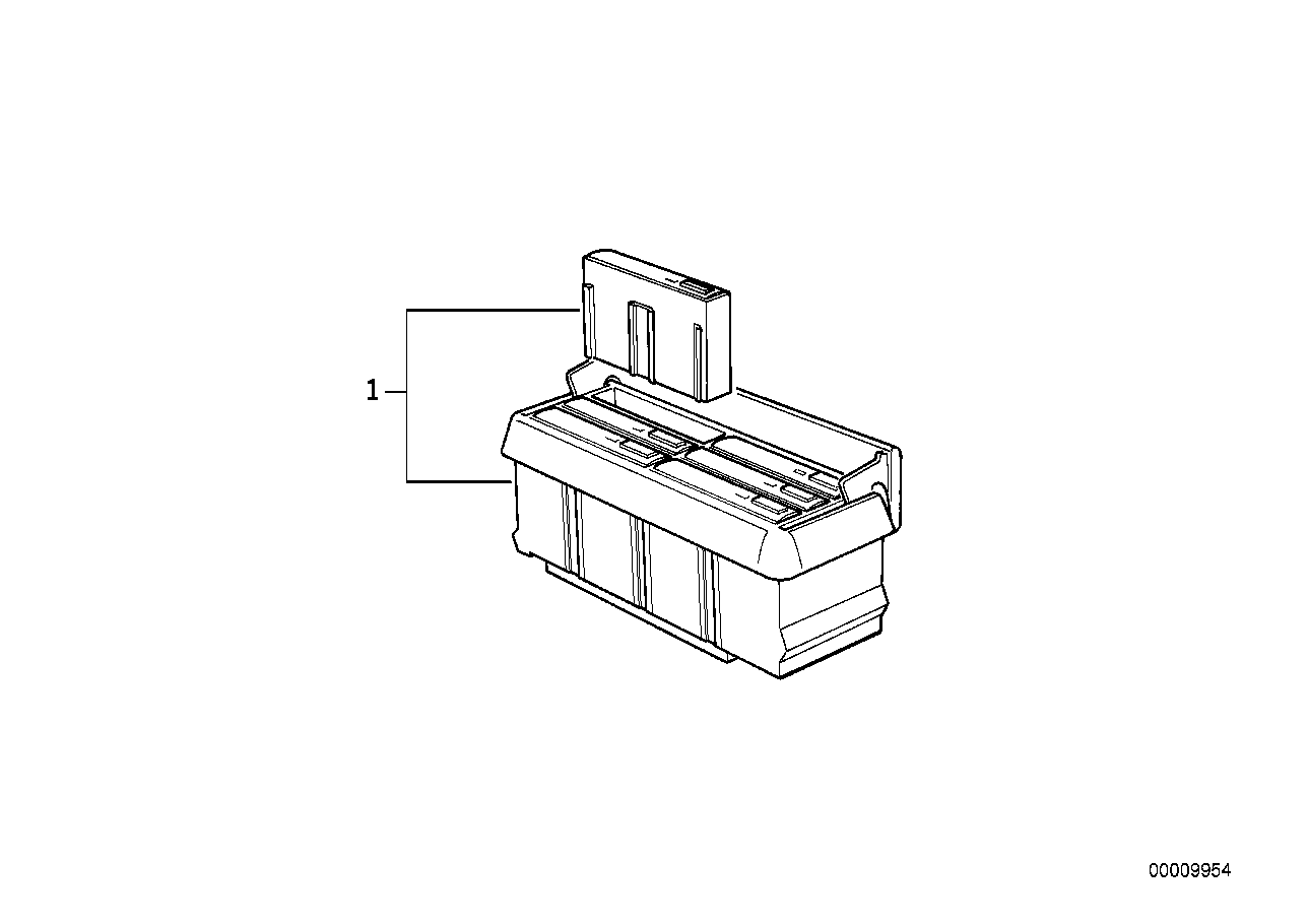 Cassette holder console