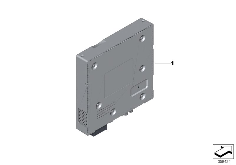 Conversion to TV module digital