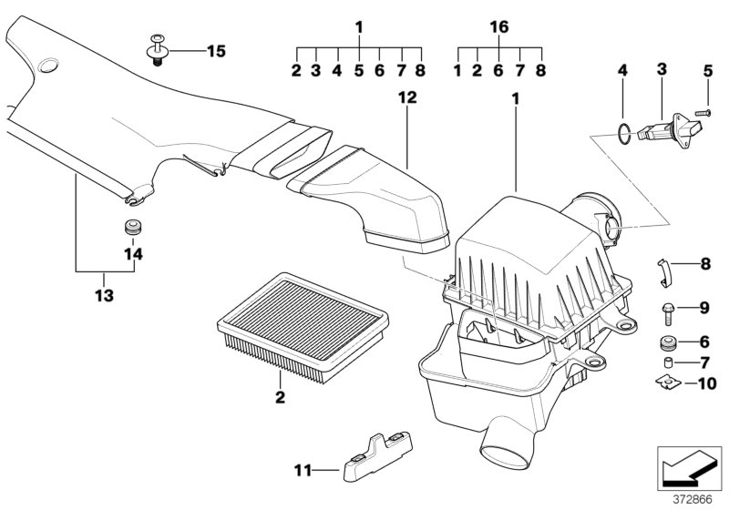 Bmw E46 Air Intake Diagram | Wiring Diagram