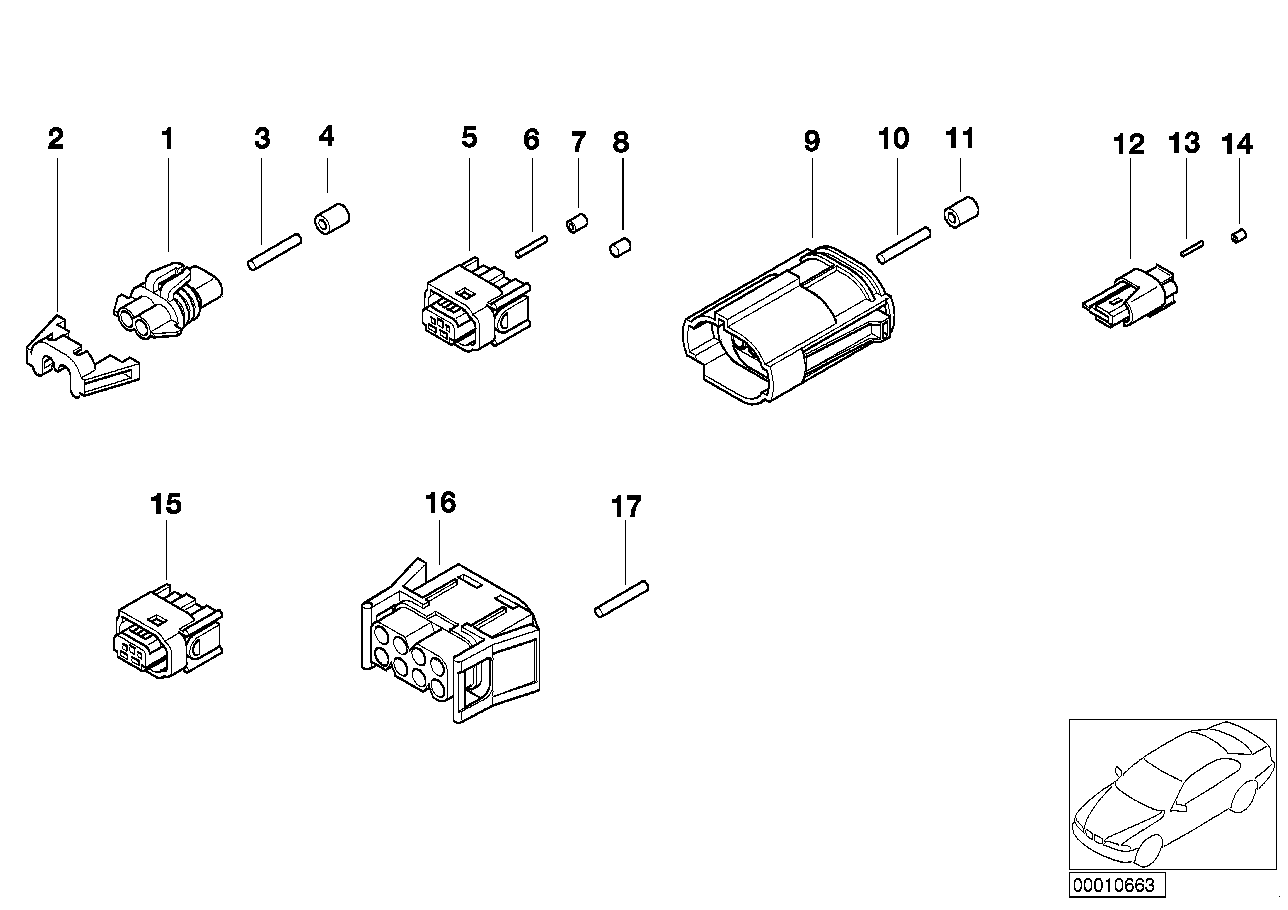 Various plugs according to application