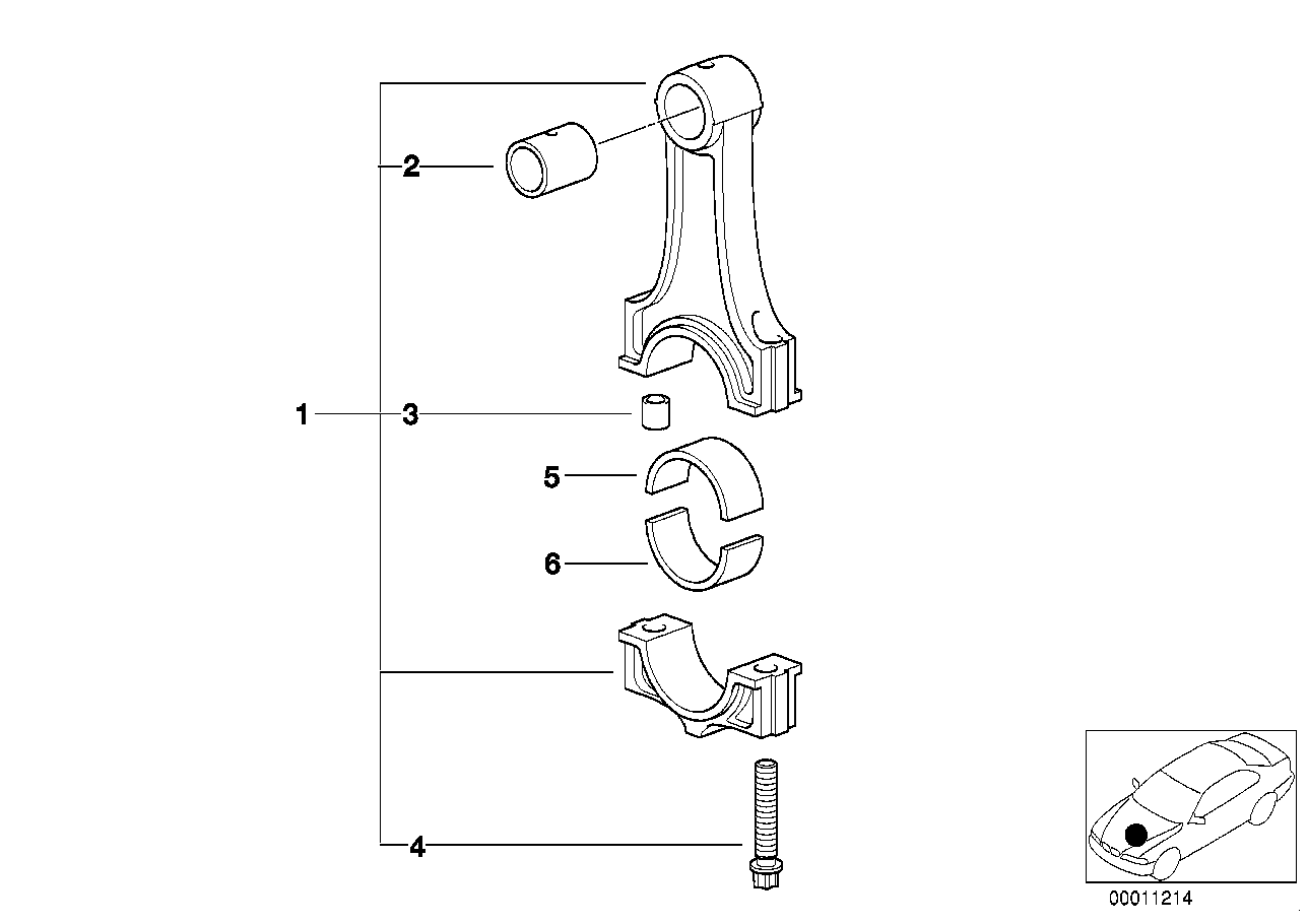 Crankshaft Connecting Rod