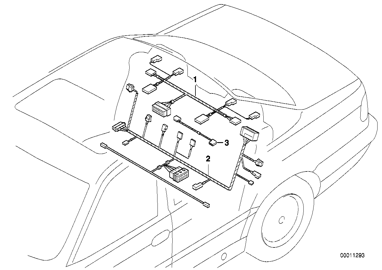 Online Bmw Parts Catalog E38 Wiring Diagrams Rear Seat Set