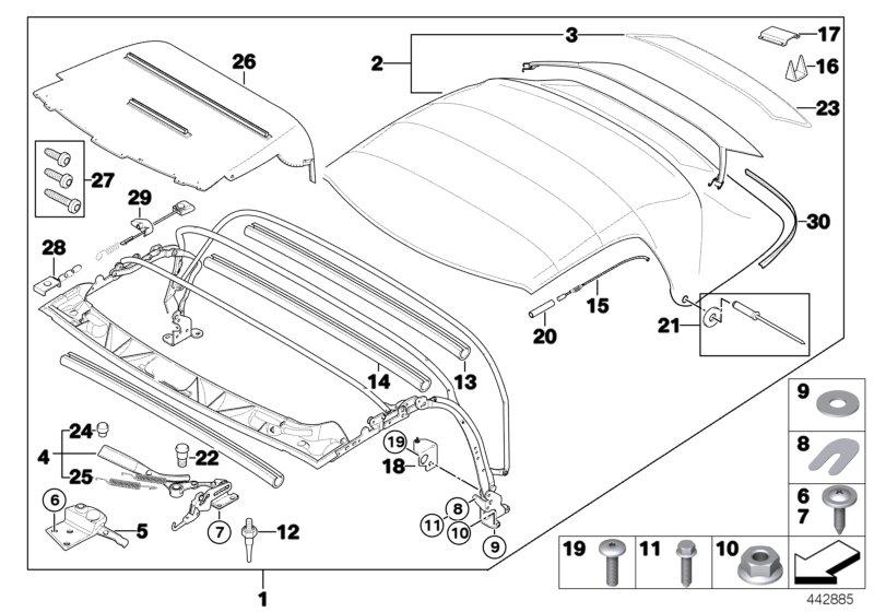 Bmw Z3 Wiring Diagram Free : Bmw z parts diagrams wiring diagram for free