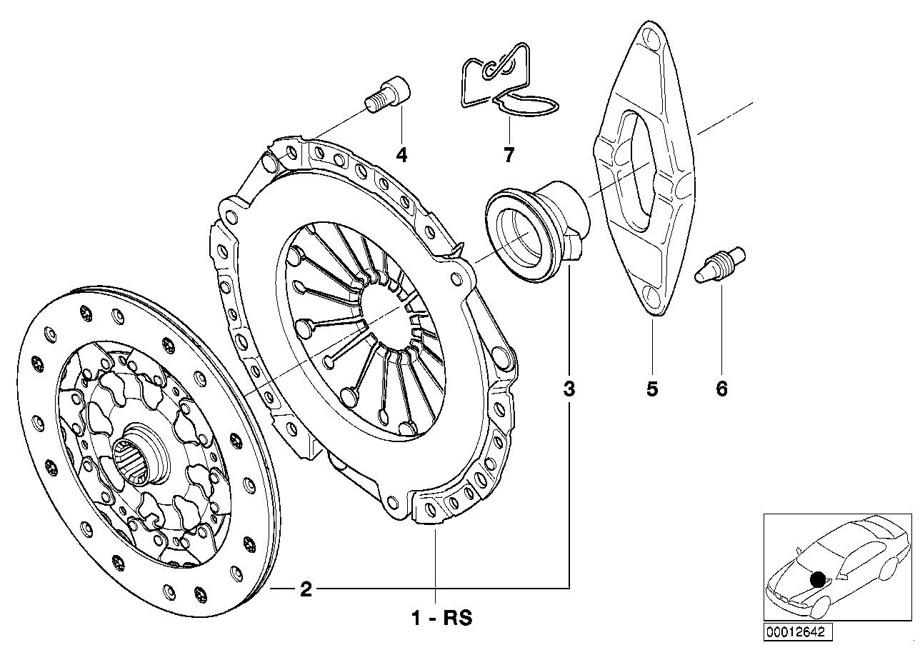 Online Bmw Parts Catalog Bicycle Brake Diagram Clutch