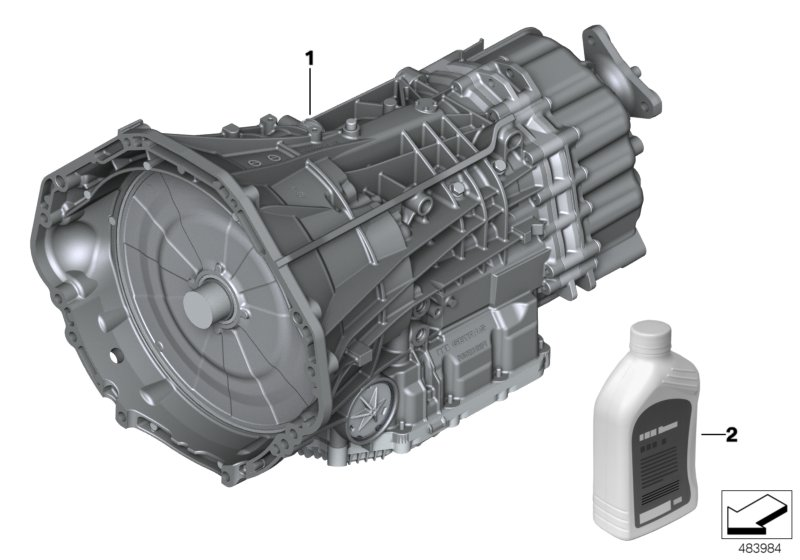 Dual-clutch transmission GS7D36BG