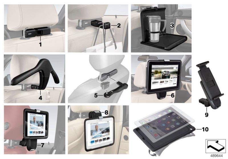 ORIGINALE BMW Travel /& Comfort System APPENDIABITI 51952449251