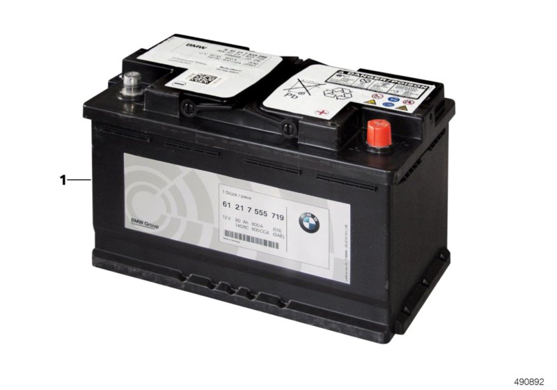 Original BMW battery